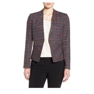Halogen Structured Tweed Jacket IN2008